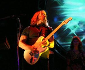 Guitarist Walter Stickle of Pink Voyd